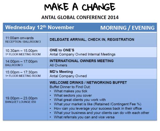 Antal Global Conference Agenda – Conference Agenda